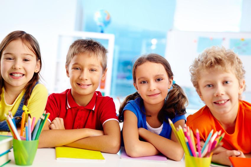 کودکان در مدرسه