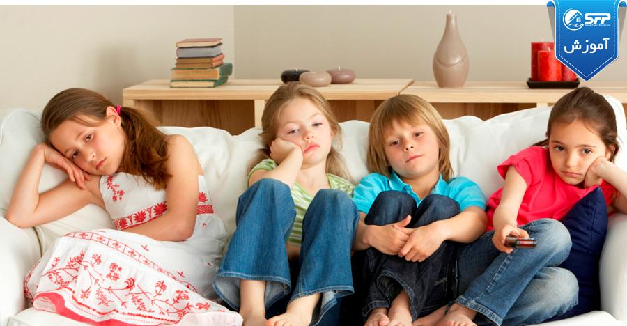 مراقبت از فرزندان زمانی که در خانه تنها هستند