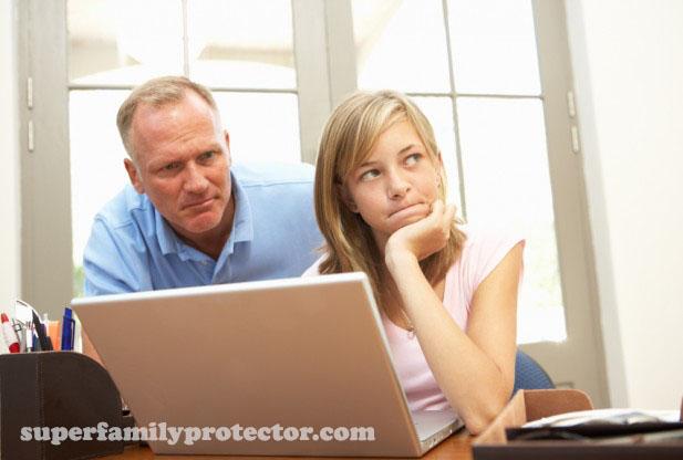مراقبت از فرزندان در اینترنت