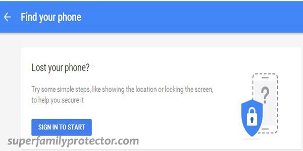 ردیابی گوشی گم و یا سرقت شده توسط گوگل بدون نصب برنامه