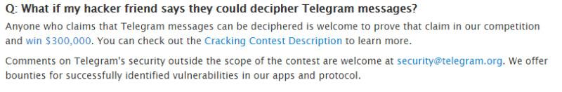 تلگرام هکر ها را فرا می خواند