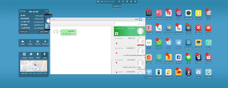 نظارت بر پیام های تلگرام با استفاده از برنامه SFP