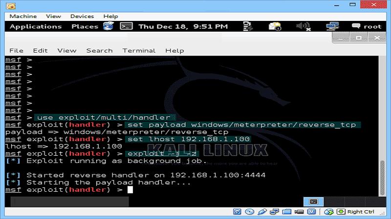 هک کامپیوتر با استفاده از لینوکس
