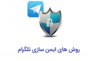 ایمن سازی تلگرام از طریق روش های ساده جلوگیری از هک
