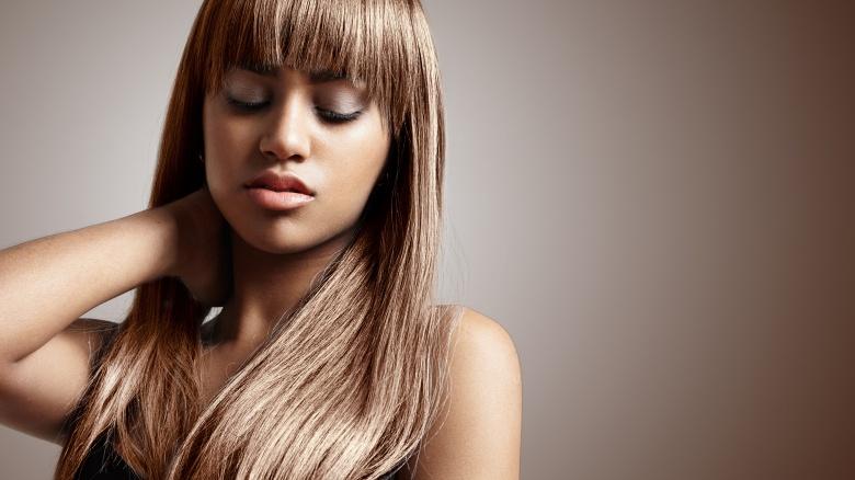 رنگ موی بلوند گرم