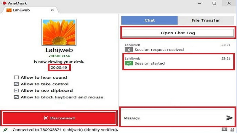AnyDesk tutorial with explaining how it's software and