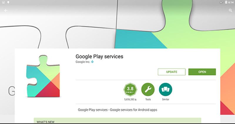 آپدیت مستقیم Google Play Services از Google Play Store