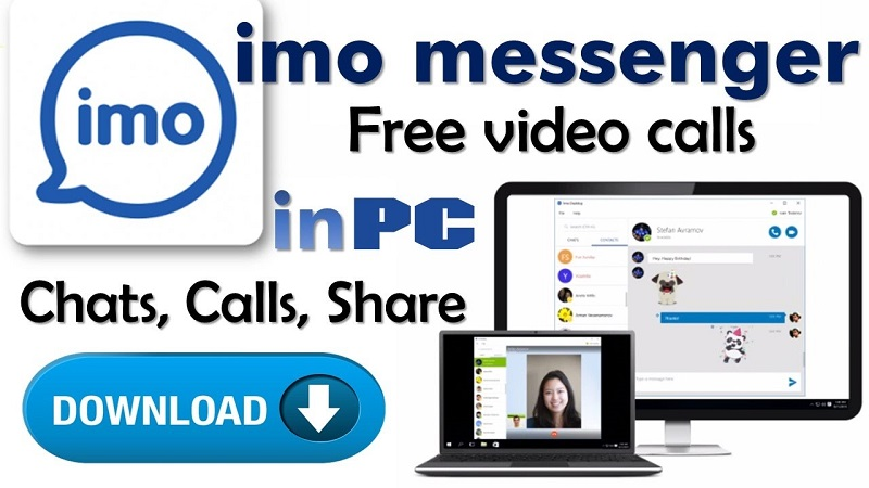 Download Imo for PC - install and create Imo account on pc