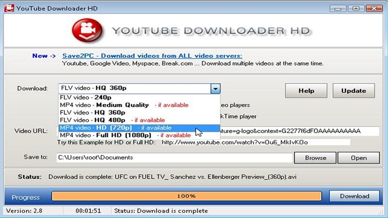 نرم افزار دانلود از یوتیوب
