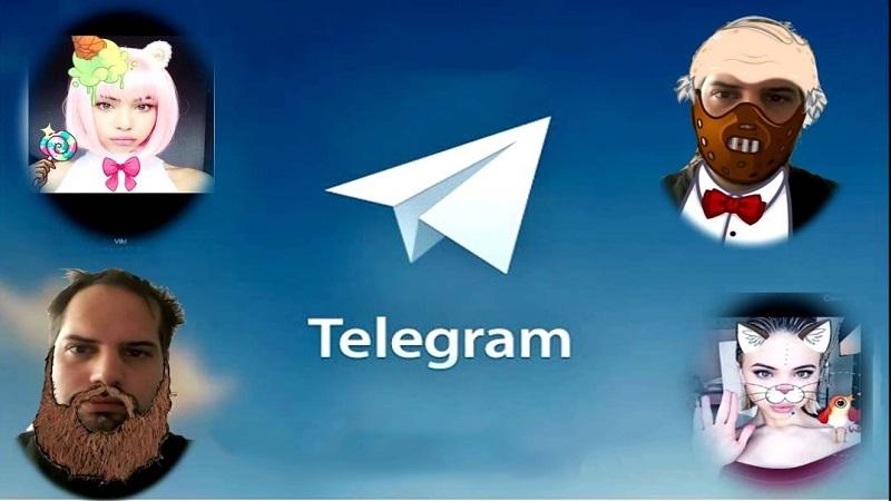 آموزش اضافه کردن استیکر به عکس در تلگرام به صورت تصویری