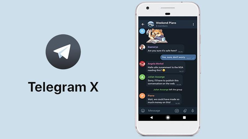 دانلود Telegram X آخرین نسخه رسمی تلگرام ورژن جدید برای اندروید و iOS