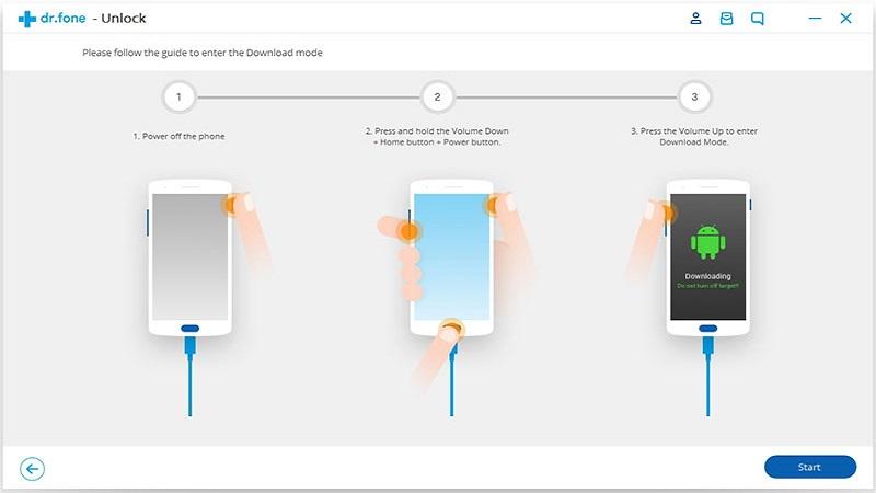 باز کردن پسورد گوشی با pc مرحله 4