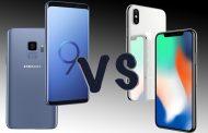 مقایسه سامسونگ گلکسی S9 با آیفون X
