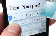 دانلود Fast Notepad دفترچه یادداشت سریع و ساده برای اندروید