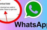 مشکل ارسال و دانلود فایل در واتس اپ و رفع عدم دریافت فیلم و عکس