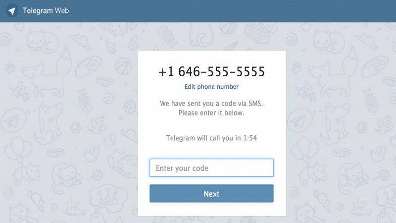 نصب تلگرام از طریق تلگرام وب