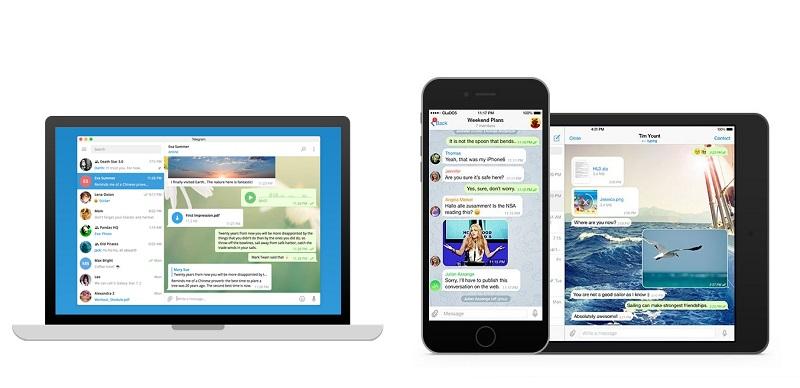 نصب تلگرام روی دستگاه دیگر