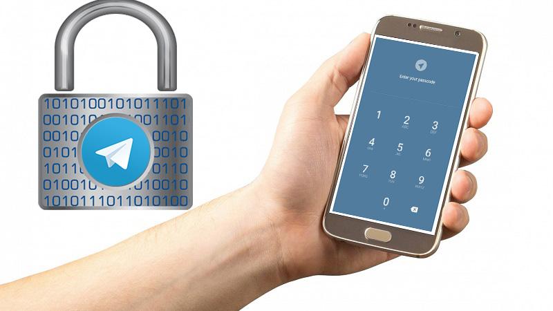 آموزش گذاشتن رمز برای تلگرام اندروید، آیفون و کامپیوتر به صورت تصویری