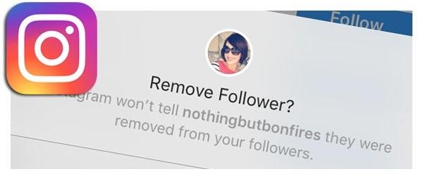 حذف فالوور اینستاگرام