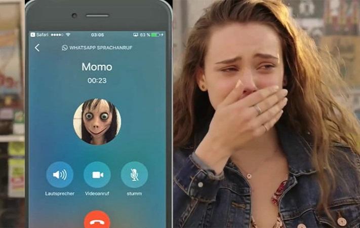 تماس مومو