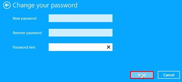 گذاشتن رمز روی کامپیوتر