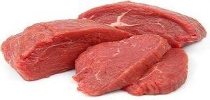 گوشت خام