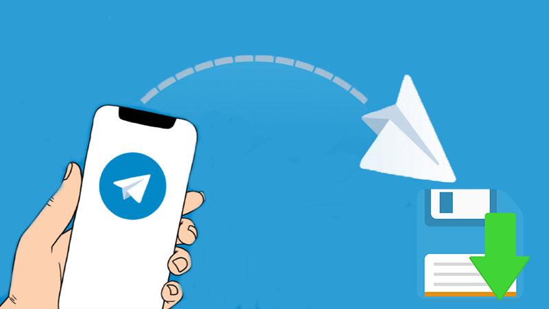 دانلود کامل کانال تلگرام در فایل PDF