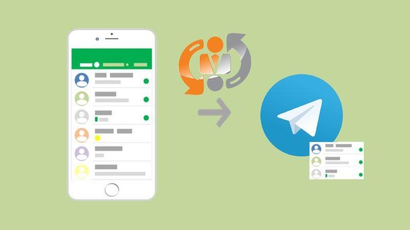 همگام سازی مخاطبین در تلگرام و حل مشکل اضافه نشدن مخاطب در تلگرام