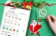 استیکر کریسمس واتس اپ برای تبریک سال نو میلادی