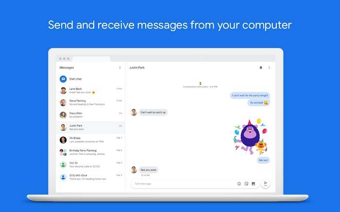 ارسال پیامک از طریق کامپیوتر