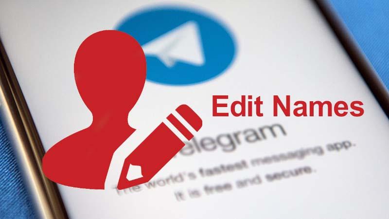 آموزش تغییر نام کاربری در تلگرام برای خود و دیگران