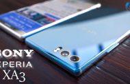 گوشی جدید سونی XA3