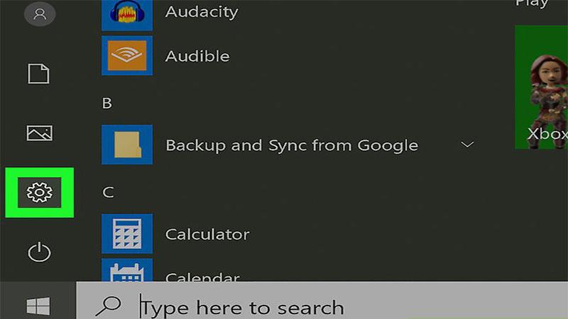 تنظیمات در ویندوز 10