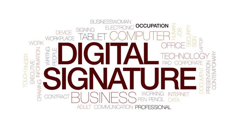 نحوه ساخت امضای دیجیتال
