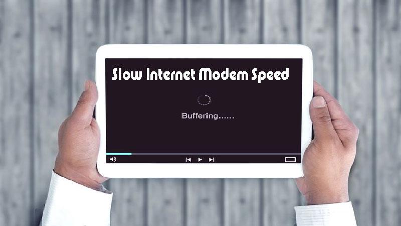 علت کاهش سرعت اینترنت مودم چه می تواند باشد؟