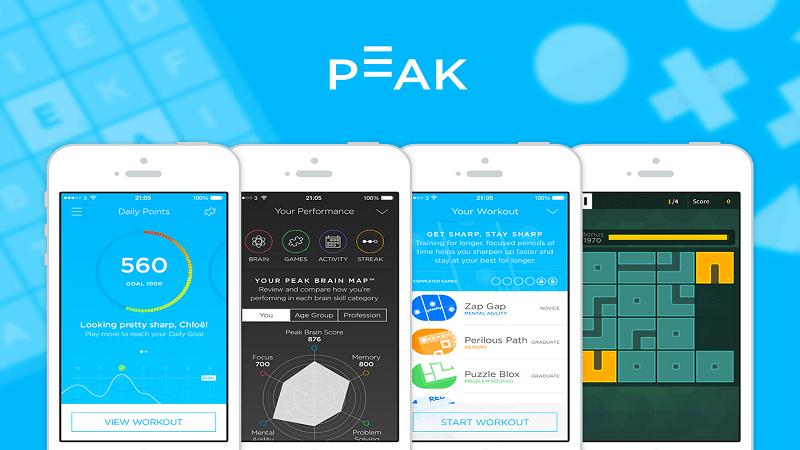 اپلیکیشن peak