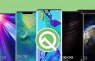 گوشی های موبایل هواوی دارای اندروید Q کدامند؟