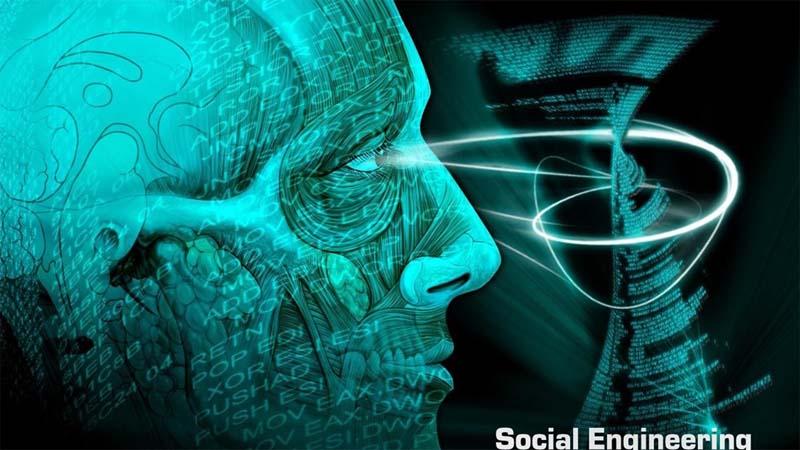 مهندسی اجتماعی بجای واژه هک استفاده می شود.