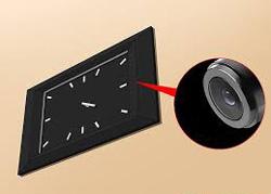 دوربین جاسوسی مخفی در ساعت