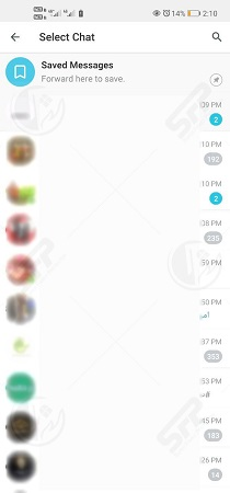 ارسال به تلگرام