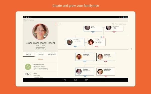 اپلیکیشن MyHeritage