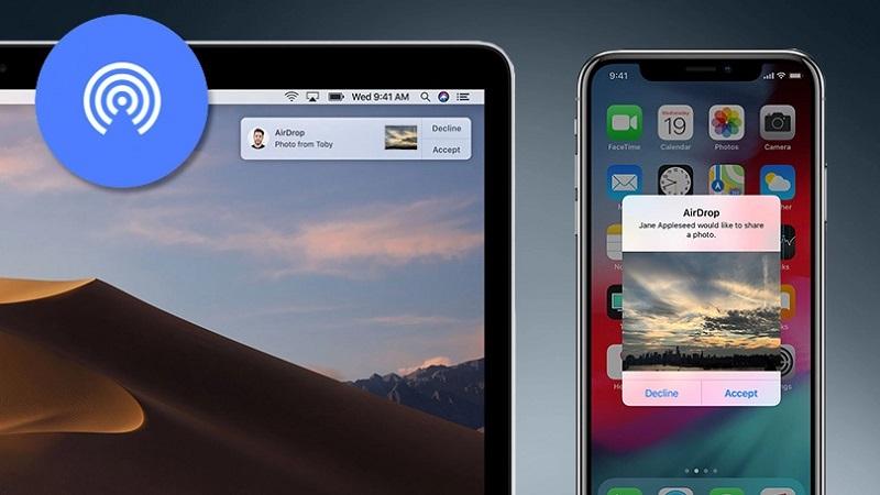 قابلیت AirDrop (ایردراپ) اپل | آموزش فعال سازی و استفاده از ایردراپ
