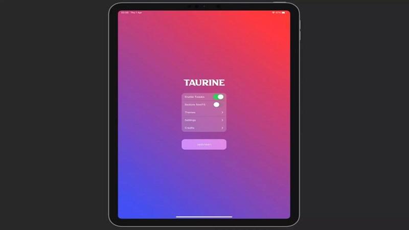 جیلبریک Taurine برای iOS 14 تا iOS 14.3 منتشر شد